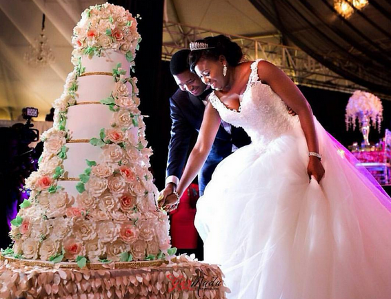 Photos from the white wedding of Usman Jubrin's daughter