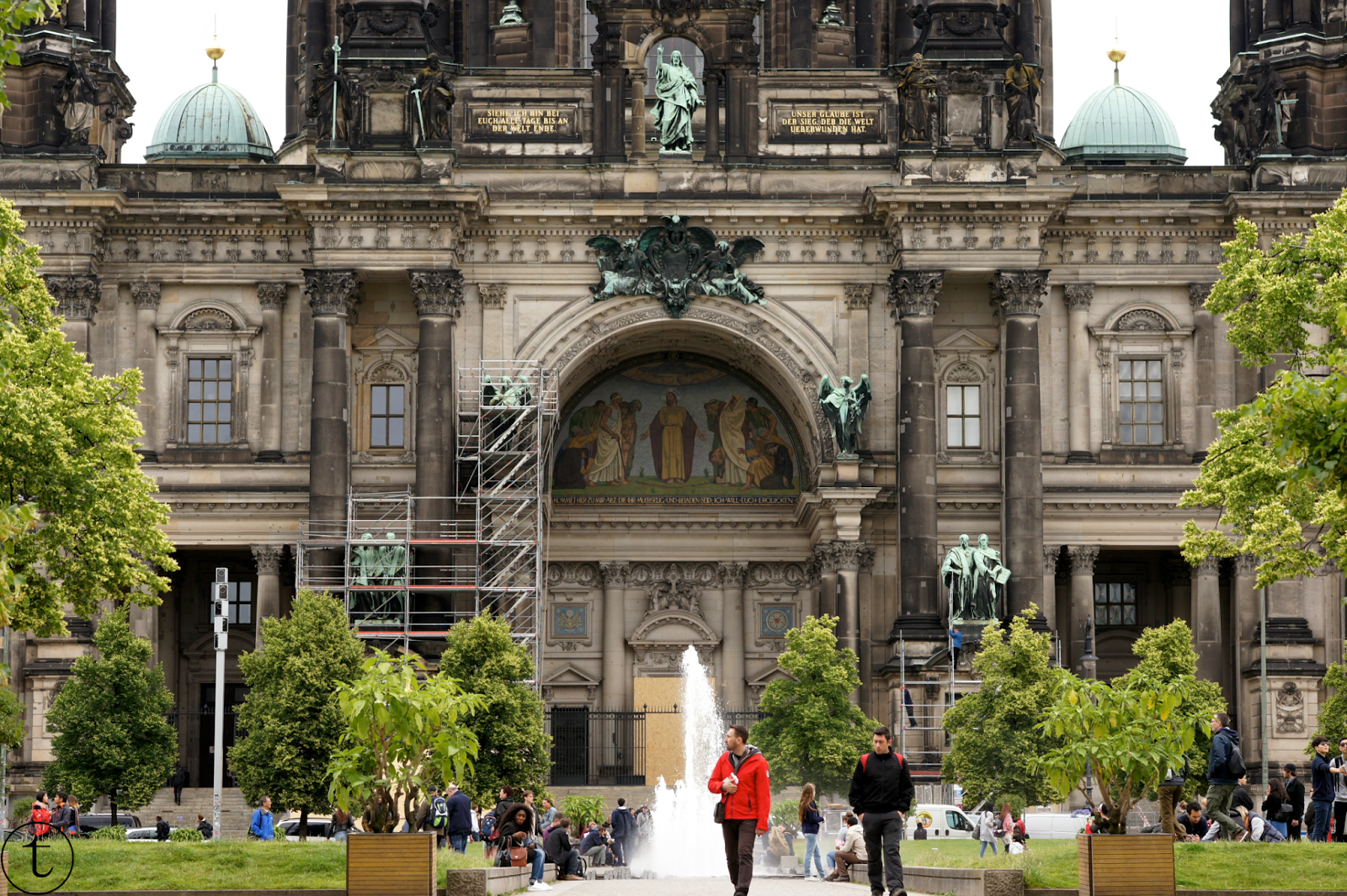 berliner dom cathedral in berlin travel diary