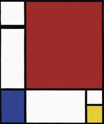 Pintura de Piet Mondrian