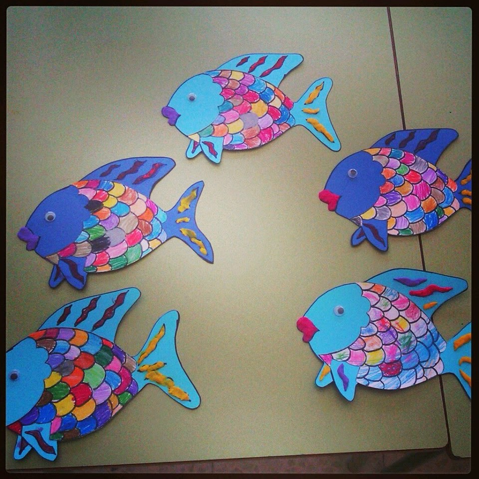 y como colofn un cumpleaos pez arco iris cmo preparar con forma de pez