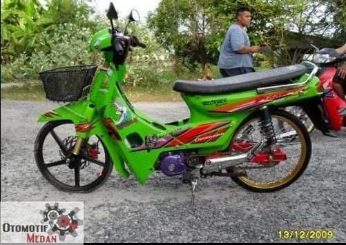 Modifikasi Motor Honda Grand Si Bebek Klasik title=