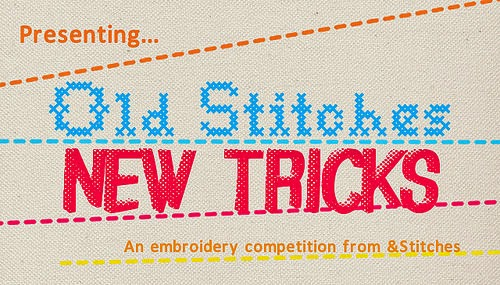 Enter the &Stitches embroidery competition