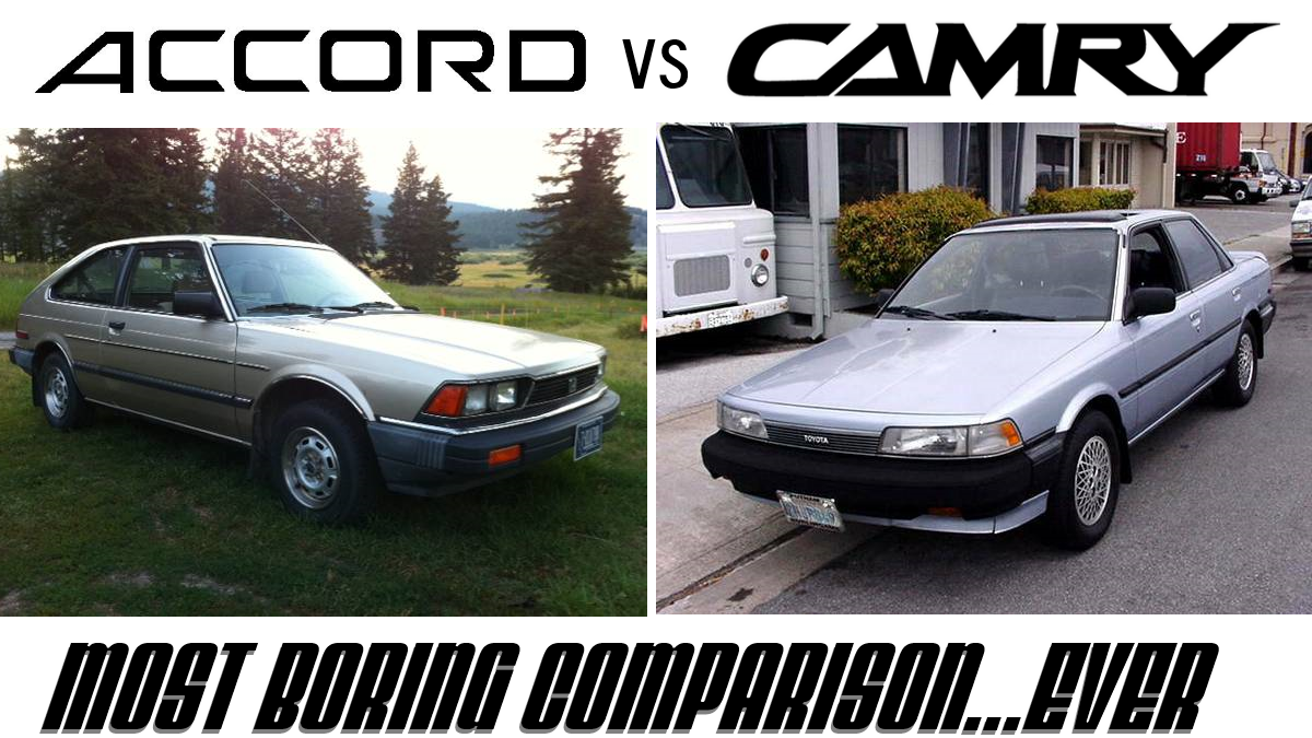 daily turismo 3k battle of the bore 1988 camry vs 1983 accord. Black Bedroom Furniture Sets. Home Design Ideas
