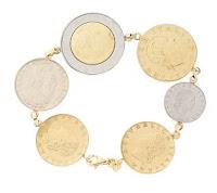 Italian Coin Bracelet Qvc1