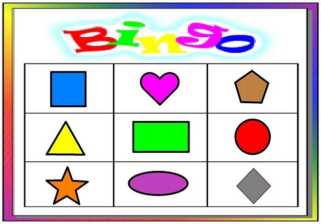 """Mi Escuela Divertida: Juego Didáctico """"Bingo de Figuras ..."""