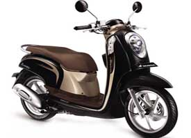 Honda Scoopy FI for rent in Ubud, Bali