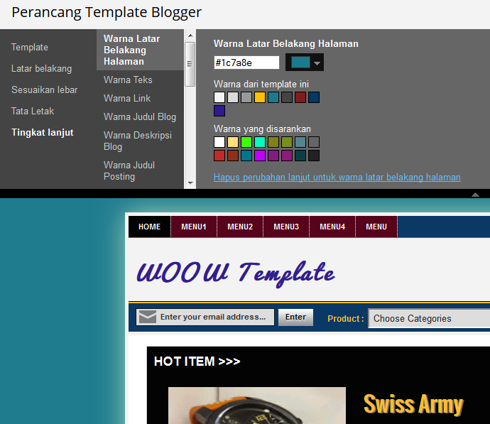 custome template designer blogspot