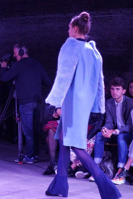blog o Francji Pokaz mody, Lille, Francja, 2015 - projektant: Laila Soares