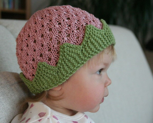 Knitting Patterns Free: Baby beret samples
