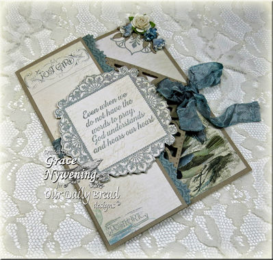 ODBD Products: Ornate Borders and Flowers, No Words, Serve the Lord, ODBD Custom Ornate Borders & Flower Dies, ODBD Custom Decorative Corners Die, ODBD Custom Crocheted Border Die