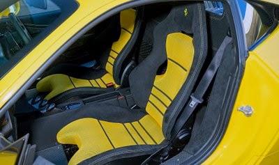 Interior Ferrari 458 Speciale
