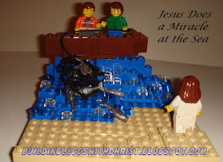 Biblical Based LEGO Creations, John 21, Christian LEGO Creations