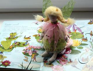 игрушка фея Тильда