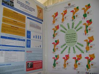 Poster : Rácios das áreas prioritárias do Regime Especial. Moçambique, 2011. By Devan Manharlal