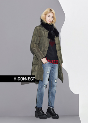 Yoona SNSD Girls Generation H Connect Fall Winter 2015