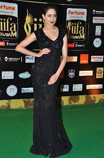 Actress Pragya Jaiswal Pictures in Black Dress at IIFA Awards 2016  252847.jpg