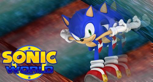 Conheça o Sonic World - Um jogo feito por fãs