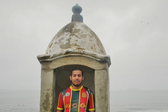 Fortaleza na Ilha do Mel no Paraná.