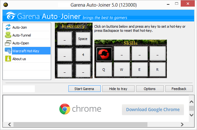 Garena auto joiner| Download garena auto joiner v 5.12