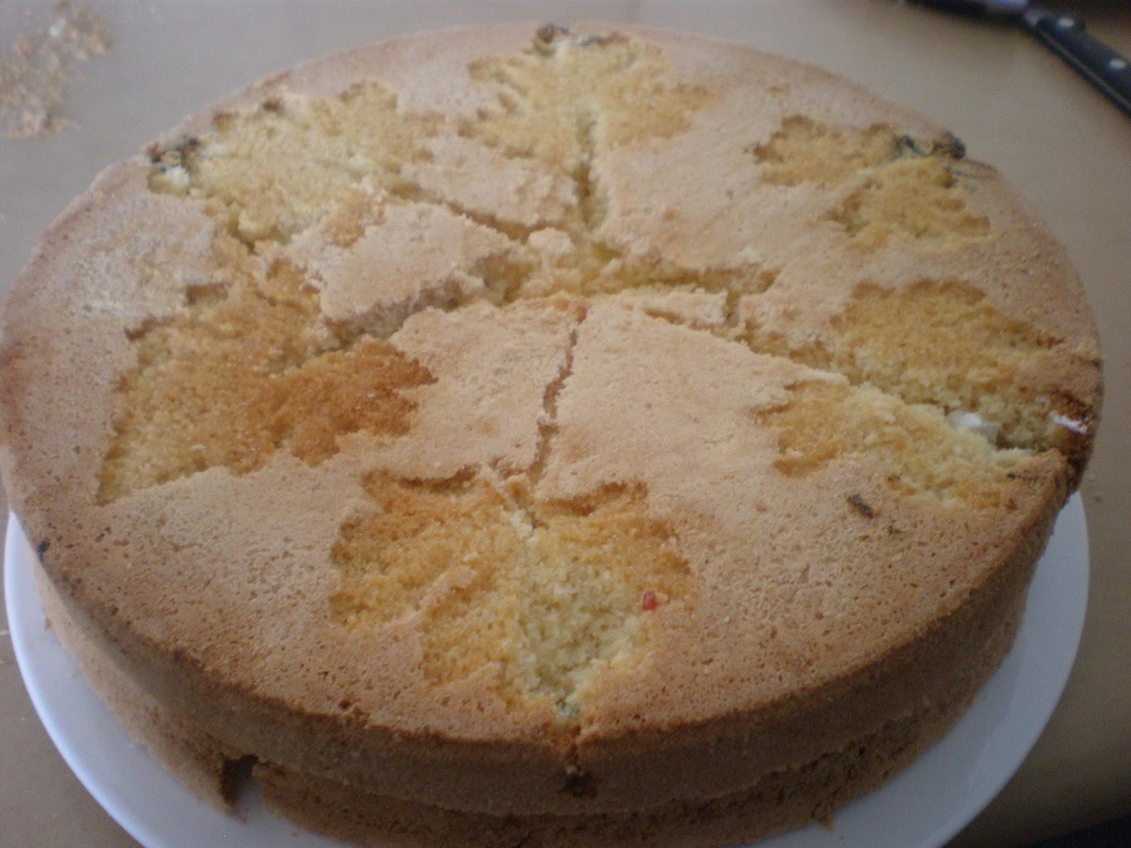 Duck Egg Sponge Cake Recipe