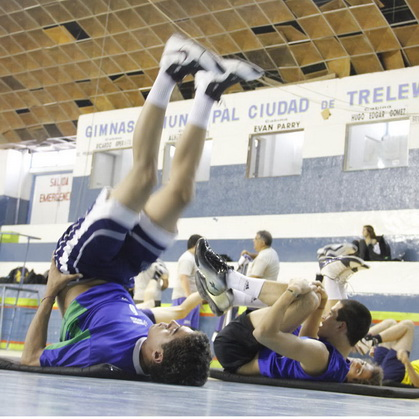 Entrenamiento Chubut Volley
