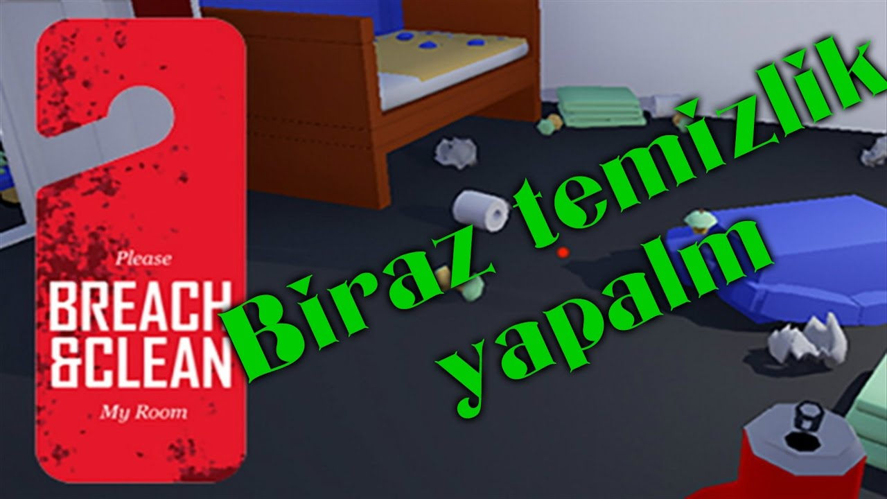 Temizlikçi Simulator Oyunu İndir - Breach And Clean Simulator Game