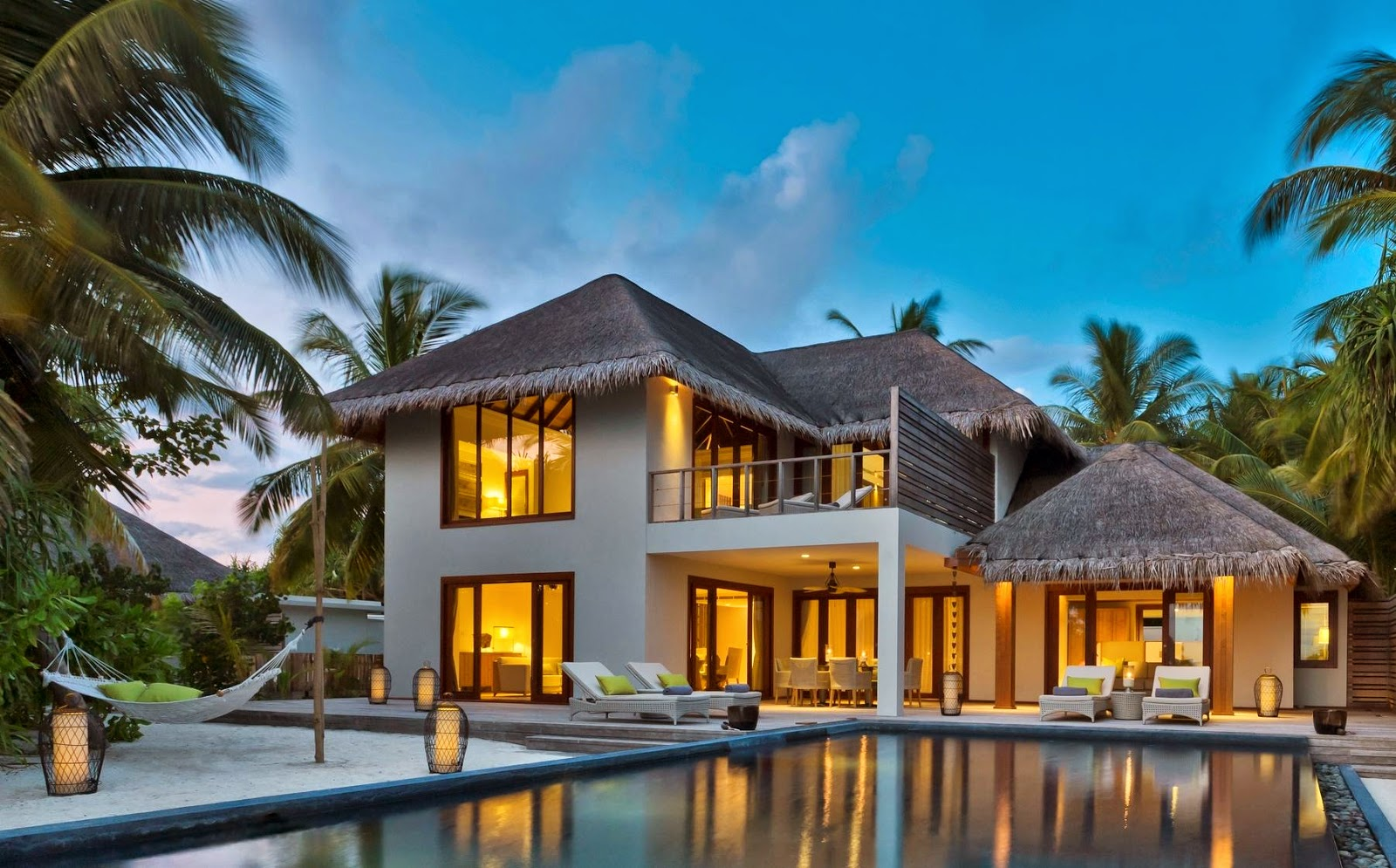 Dusit Thani Maldives offers luxury 3-bedroom residence