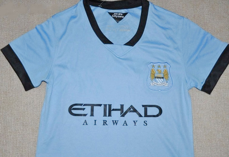 Jersey Man. City Ladies Home 2014-2015