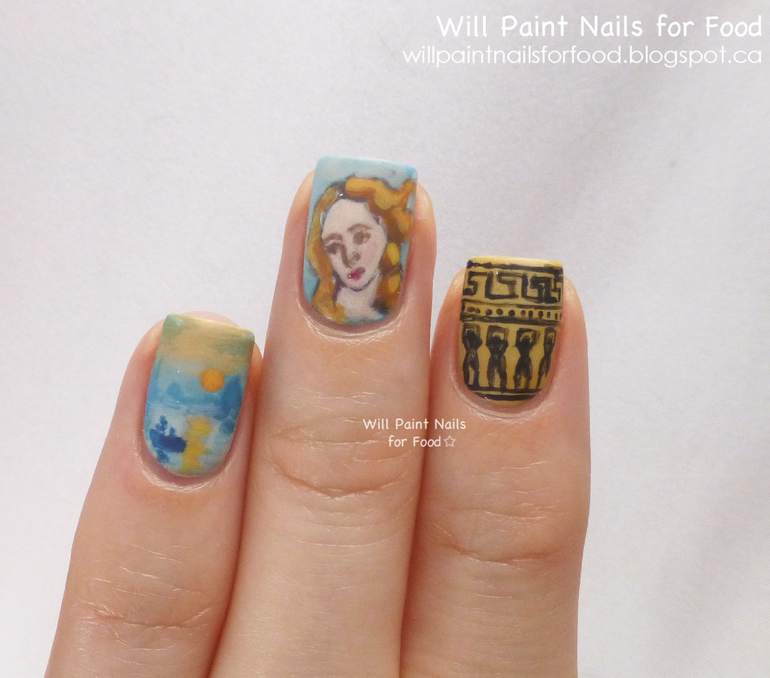 Nail Art History: 1000+ Images About Sartle: Art History Nail Art On