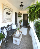 Back Porch & Key Hole Garden