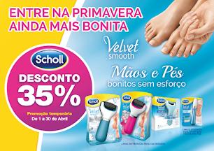 SKIN | 35% Desconto Limas Electrónicas Dr Scholl