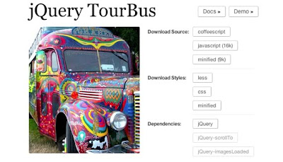 jQuery TourBus
