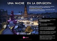 Del 17 de agosto al 29 de septiembre de 2012, 'Una Noche en la Exposición' visitas nocturnas al Parque de María Luisa y la Exposición de 1929