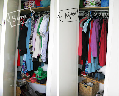 Workswonders how to declutter your wardrobe - Declutter before and after ...