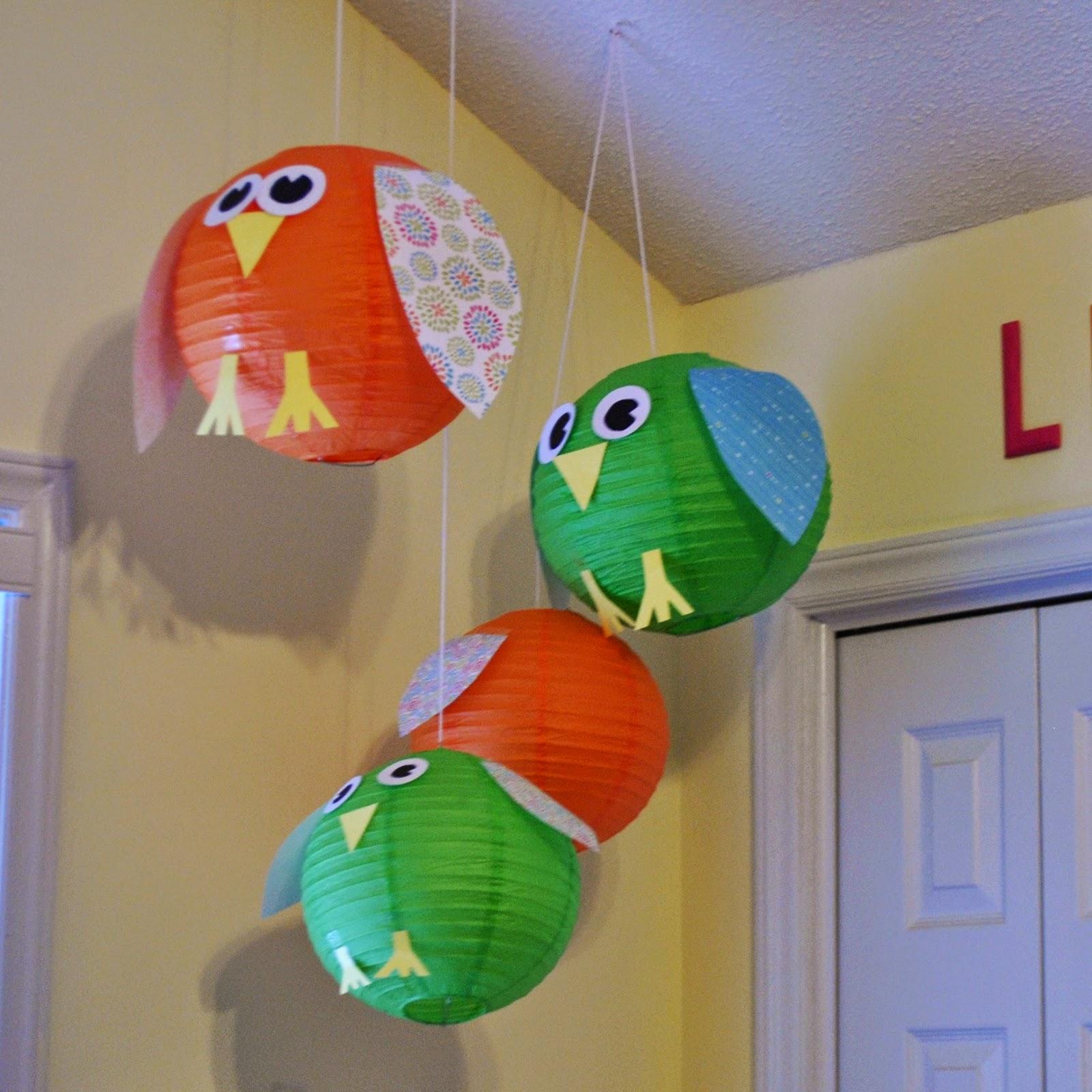 Paper Craft Owls