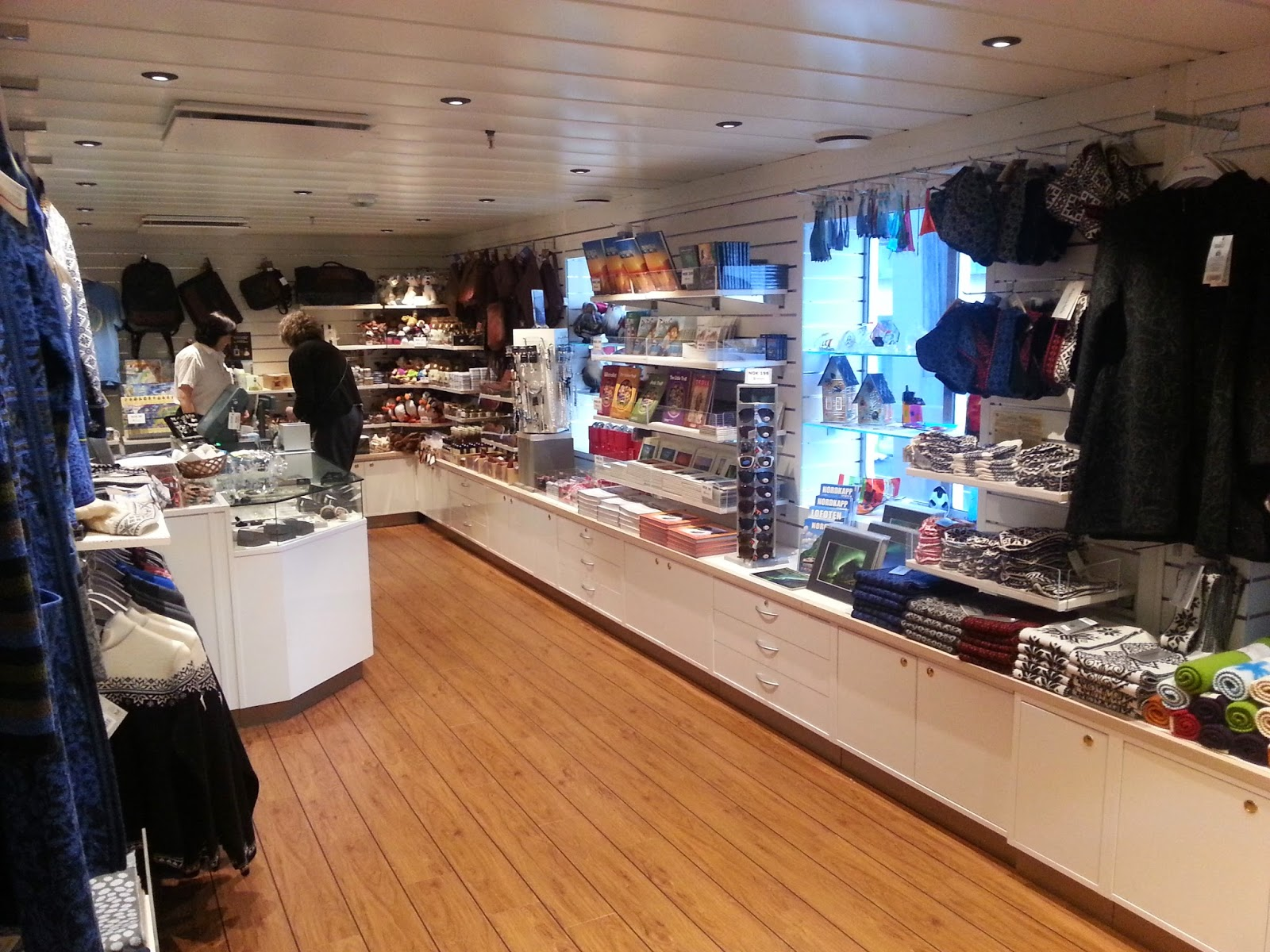 Hurtigruten MS Richard With - Shop