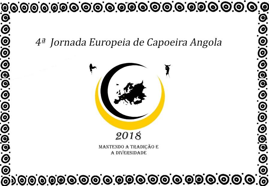 4ª JORNADA EUROPEIA DE CAPOEIRA ANGOLA