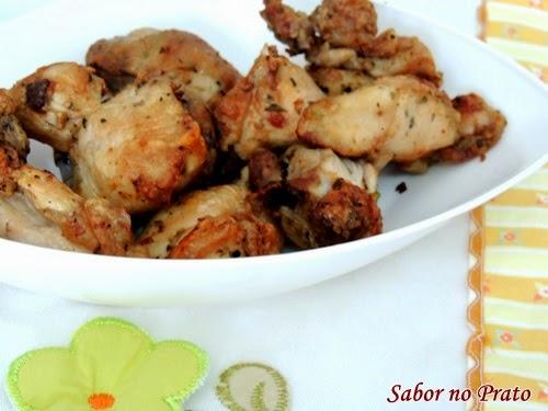 Como fazer frango à passarinho na fritadeira sem óleo
