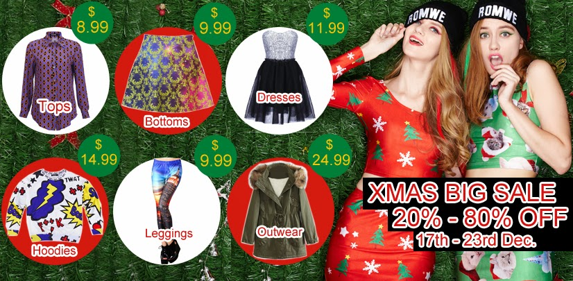 Xmas Big Sale @ROMWESHOP