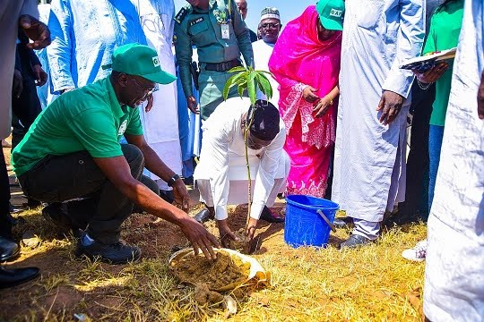 World Desertification Day: Leadership by example.