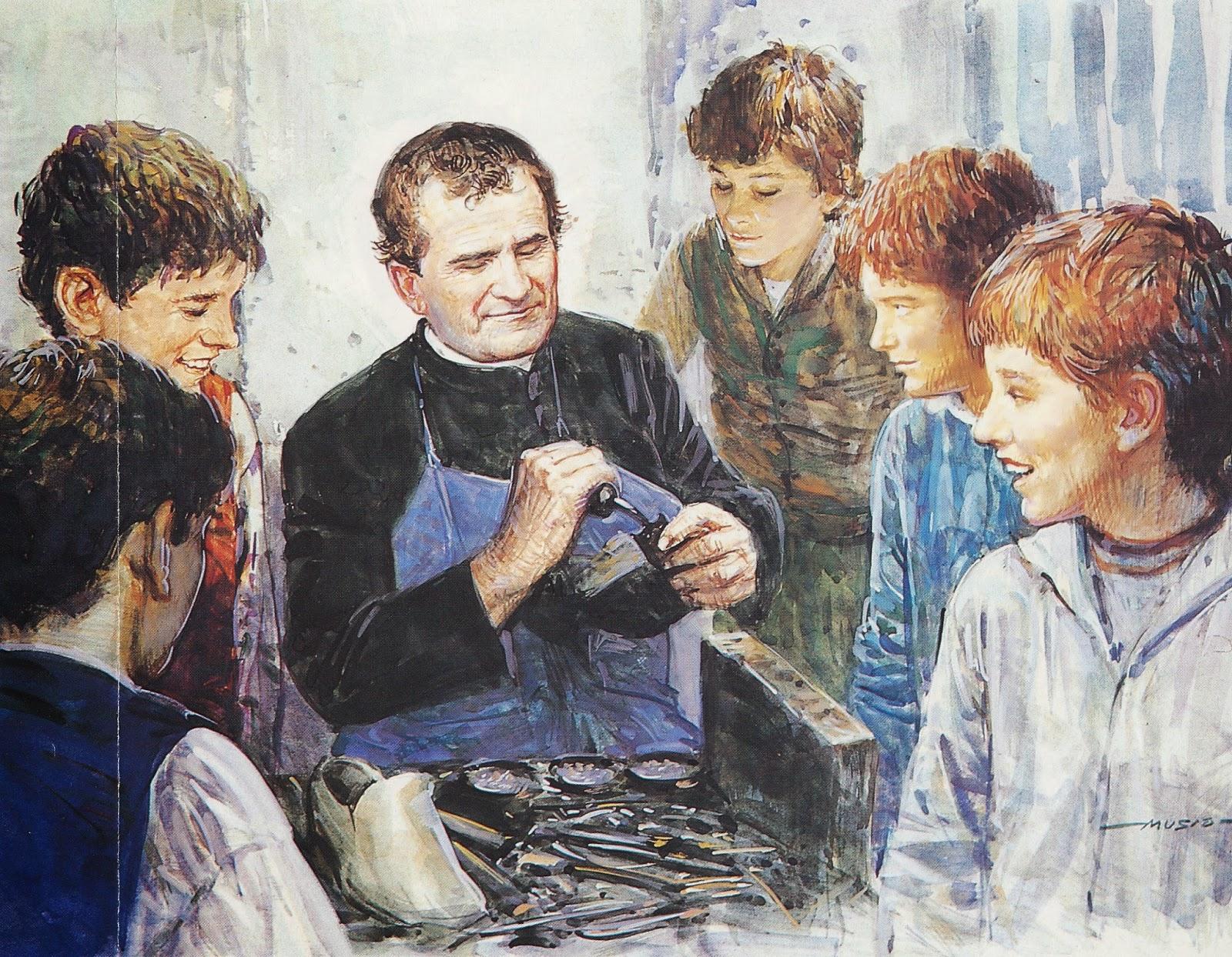 Don Bosco Y El Trabajo