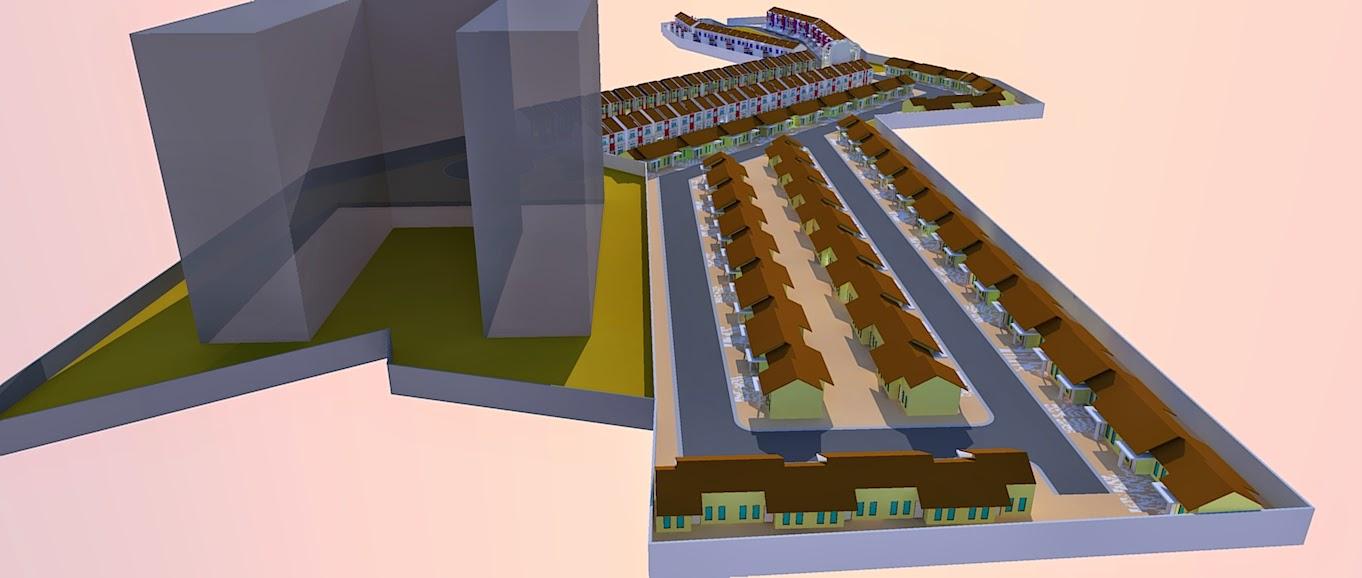 Site Plan Apartemen