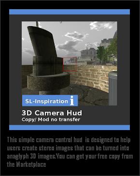 3D Camera Hud