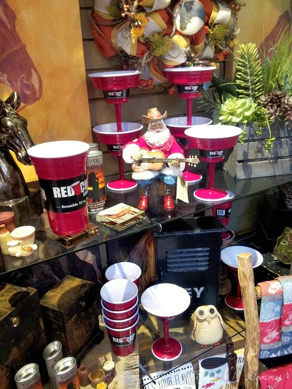 Red Cup Living display; Wight's Lynnwood WA