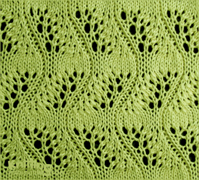 Instructions For Knitting Stitch Ssk : Japanese Feather Stitch Knitting Stitch Patterns
