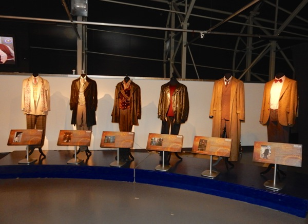 Iconic Doctor Who costumes