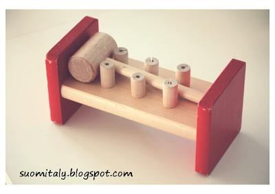 Giocattoli tradizionali in legno