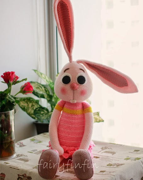 Amigurumi Long Legs : FairyFinFin: Cute Crochet Long Ears Long Legs Long Arms ...