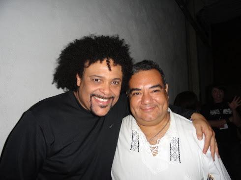 Con Pedro Eustache