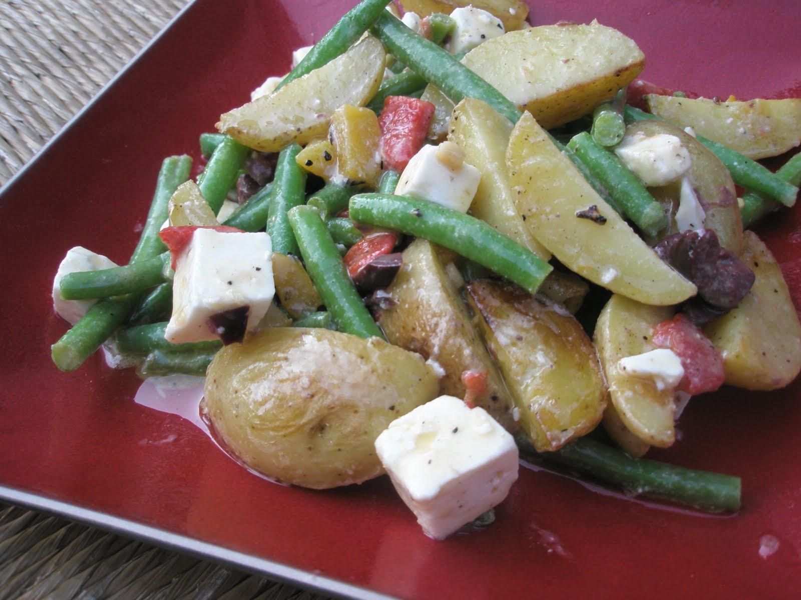 Got it, Cook it: Grilled Greek Potato Salad